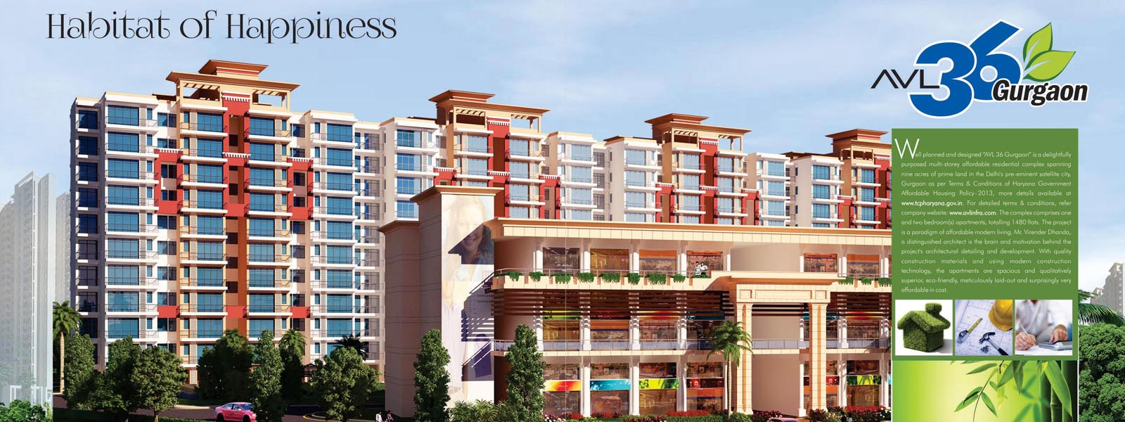 Global Hill View Affordable Housing Sohna Road (South of Gurgaon) Sector 11