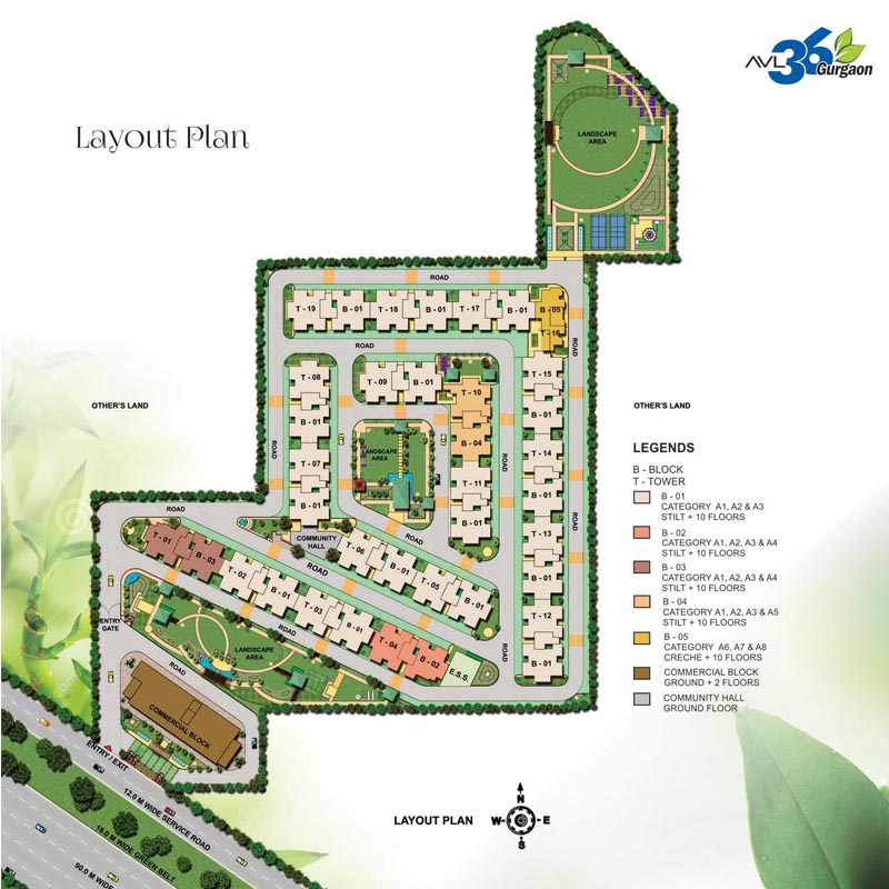 AVL - Affordable Housing Layout Plan