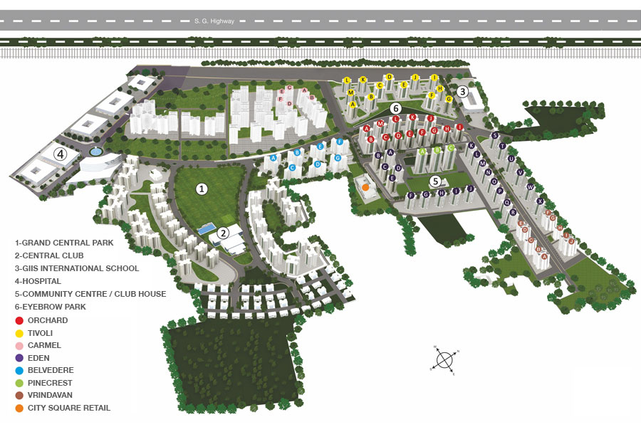 Apex Our Homes Layout, Siteplan