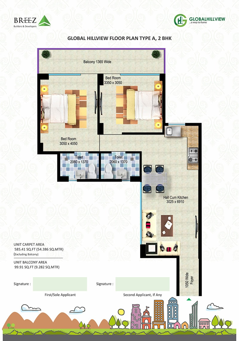Hill View Floor Plans