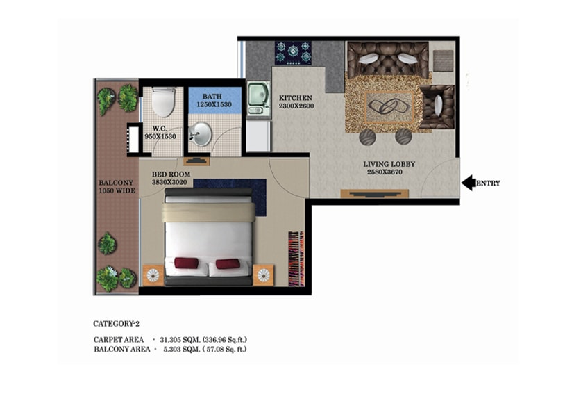 Global Heights Floor Plans