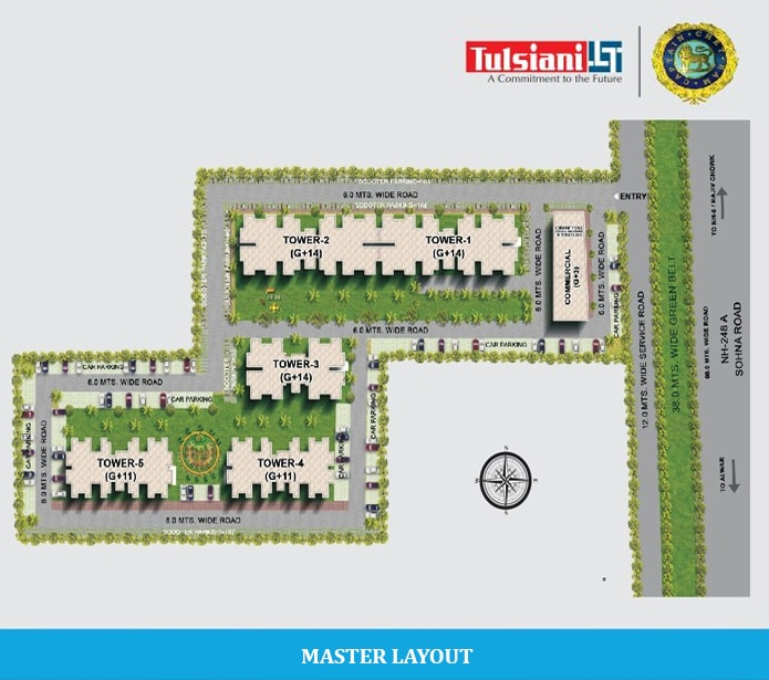 Tulsiani Easy in Homes - Easy in Homes Sector 35 Sohna Gurgaon